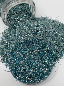 Sapphire - Crushed Glass