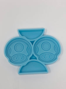 Power Up Silicone Mold - Straw Topper