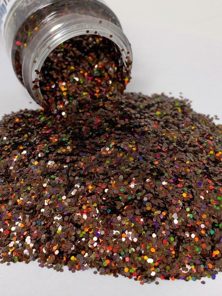 Cocoa - Chunky Holographic Glitter