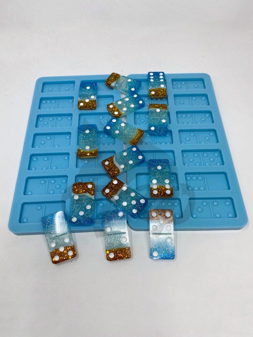 Domino Silicone Mold Set (2 Molds)