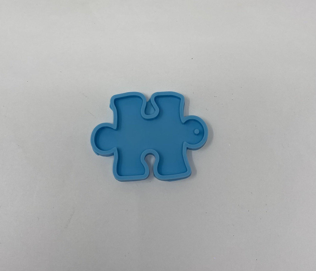 Puzzle Piece silicone mold - Keychain