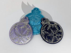 Snow Crystal Ornament Silicone Mold