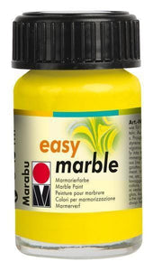 Lemon 020 - Marabu Easy Marble Paint
