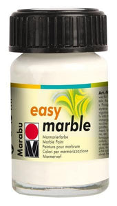 White 070 - Marabu Easy Marble Paint