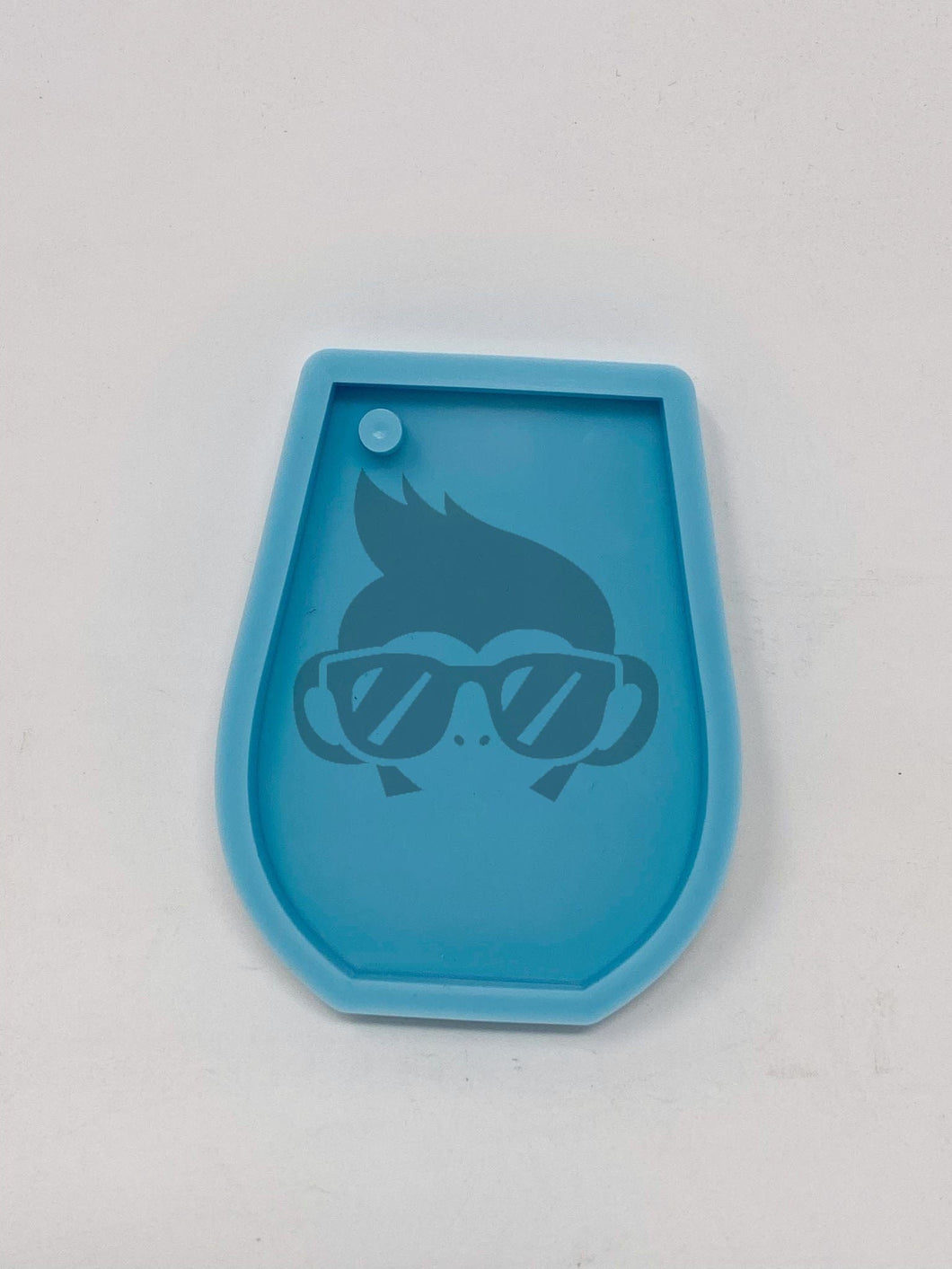 Wine Tumbler Shape silicone mold - Key Chain