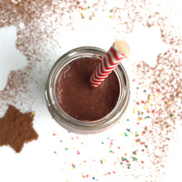 Super Healthy Chocolate Milk {Dairy Free & Sugar Free!}