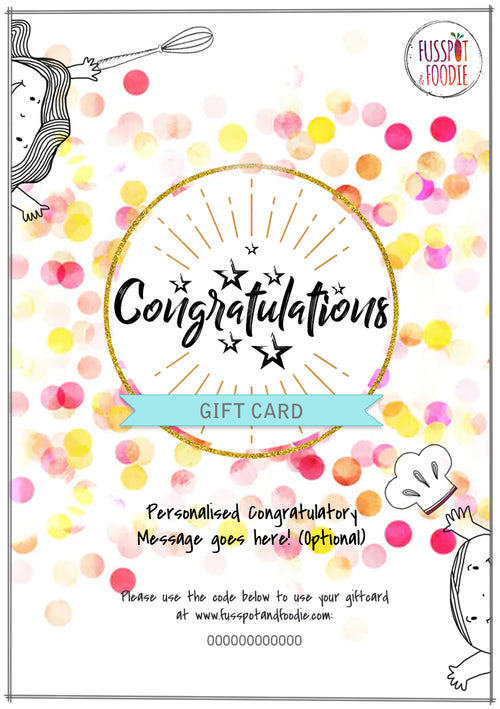Congratulations! Giftcard