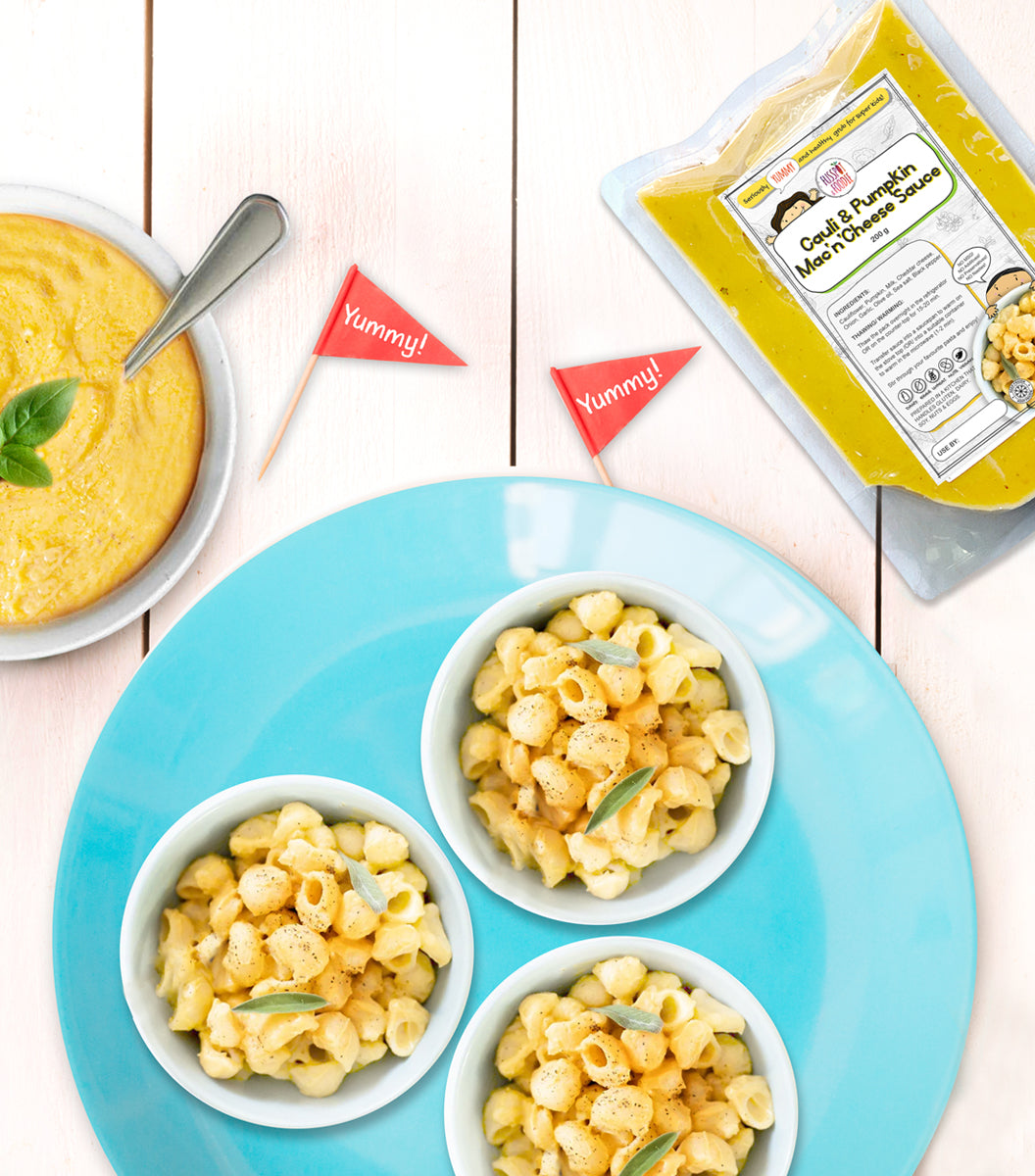 Cauli & Pumpkin Mac 'n' Cheese Sauce