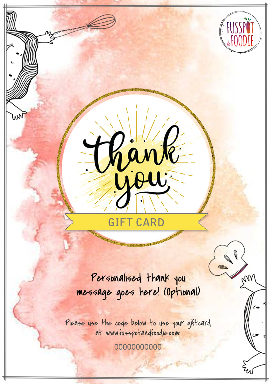 Thank You! Giftcard