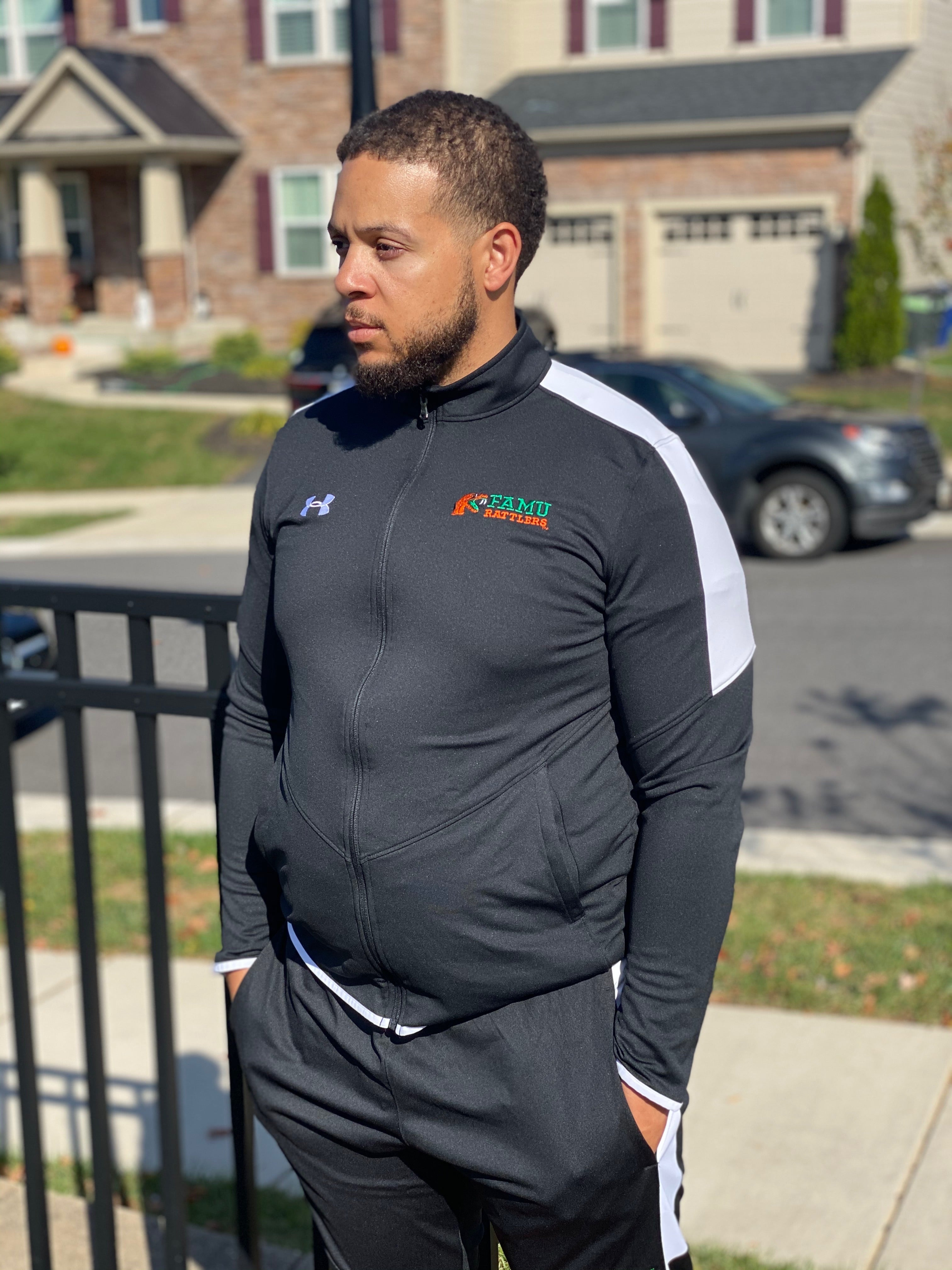 Men's Under Armour X FAMU Track Jacket