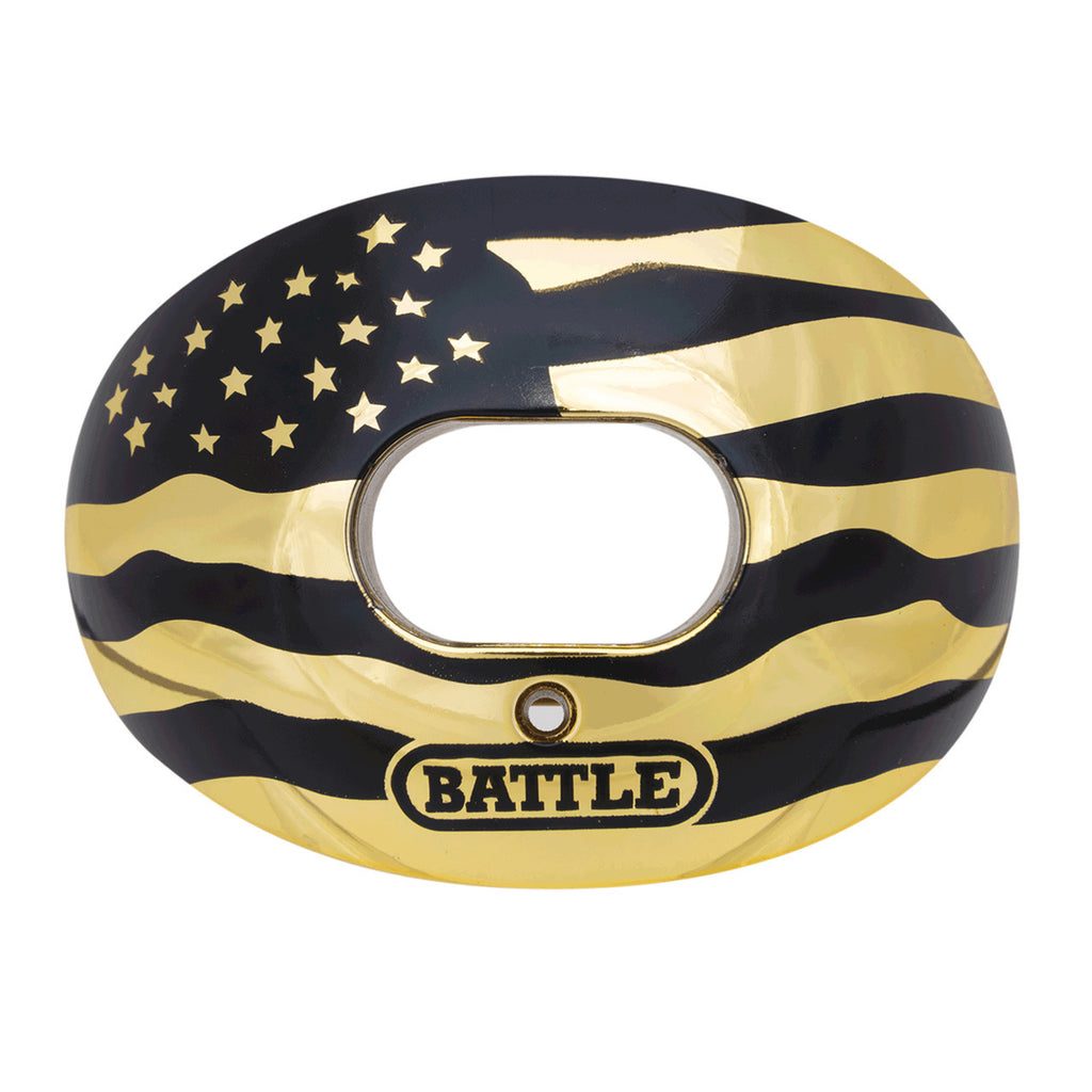 BATTLE MOUTH GUARD FLAG