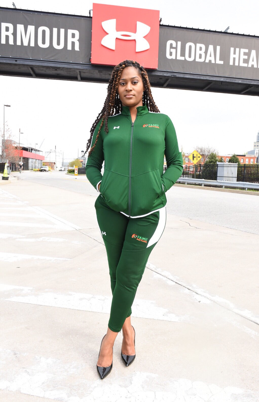 Women's Under Armour X FAMU Track Pants