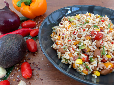 Mexican Diabetar Rice Salad
