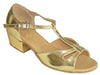 Gold Color # 160002B - EveriseDanceShoes