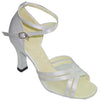 White Satin# 160315 - EveriseDanceShoes