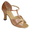 Tan Satin # 163202 - EveriseDanceShoes