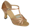 Flesh Satin and Mesh #163504 - EveriseDanceShoes