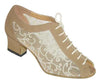 Flesh with Mesh Design # 164307 - EveriseDanceShoes