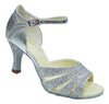 Silver Sparkle # 168004 - EveriseDanceShoes