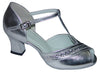 Silver Glitter # 168501 - EveriseDanceShoes