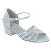 Silver Glitter #174905B - EveriseDanceShoes