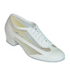 White Leather # 200903 - EveriseDanceShoes