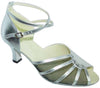 Silver/Mesh # 601808 - EveriseDanceShoes