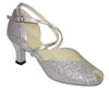 Silver Rainbow # 603602 - EveriseDanceShoes