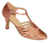 Tan Satin # 682903 - EveriseDanceShoes