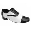 Black White Leather # 75899002 - EveriseDanceShoes