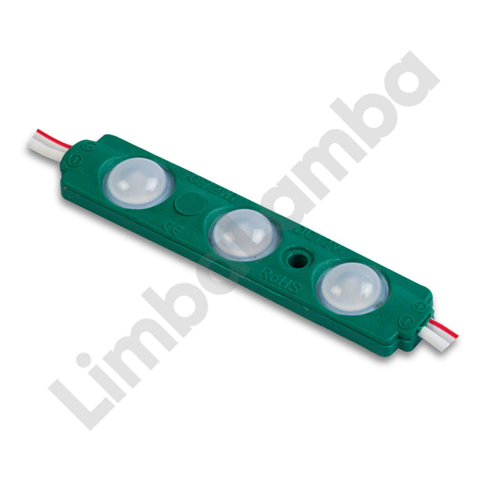 DCLED PMS 3  3 Chips Backlite Led Modul Green
