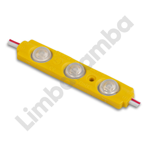 DCLED PMS 3  3 Chips Backlite Led Modul Yellow