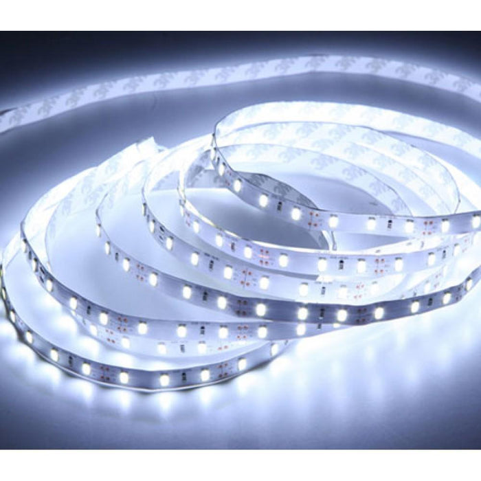 DCLED 2835 Tek Chips 6W/m Outdoor Strip Led 10000K 1 Meter (39'')