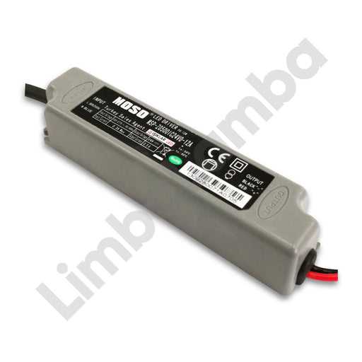MOSO MSP-Z0A500IC24V0-12A Outdoor Metal Case 12W - 24V Constant Voltage LED Driver