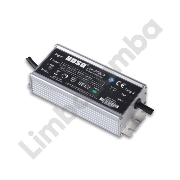 MOSO LSV-075B024 Outdoor Metal Case 75W - 24V Constant Voltage LED Driver