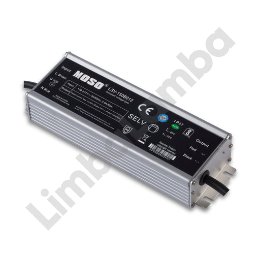 MOSO LSV-150B012 Outdoor Metal Case 150W - 12V Constant Voltage LED Driver