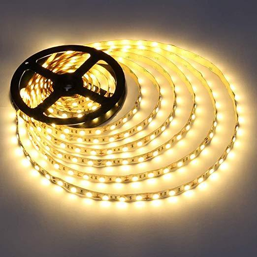 DCLED 2835 Chips 6W/m 60 Chips/Meter  Indoor Strip Led 3000K 1 Meter (39'')