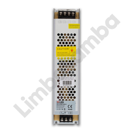DCLED SS150-12 Indoor - Metal Case 150W - 12V Constant Voltage LED Driver