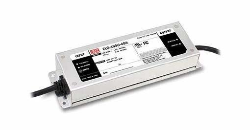 Mean Well ELG-240 Outdoor - Metal Case 240W - 24V Constant Voltage LED Driver