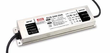 Mean Well ELG-100U Outdoor - Metal Case 100W - 24V Constant Voltage LED Driver