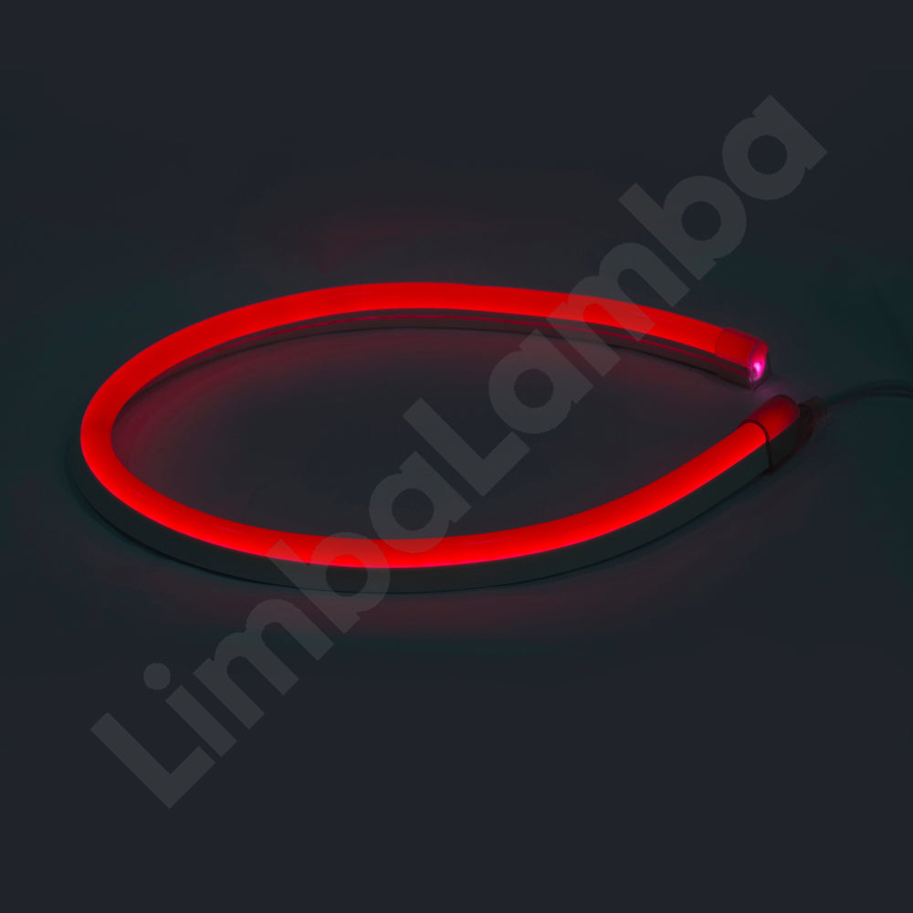 SAMSUNG  2835 16mm, 108Chips/m, Outdoor NEON Led Red 1Meter / 39''
