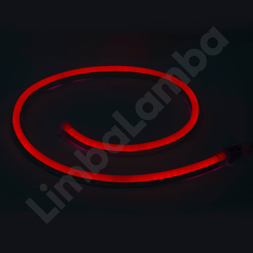 SAMSUNG  2835 8mm 108Chips/m Outdoor NEON Led Red  1Meter / 39''