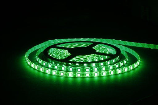 DCLED 2835 5mm Chips 9,6 W/m 96 Chips/Meter  Indoor Strip Led Green 1 Meter (39'')