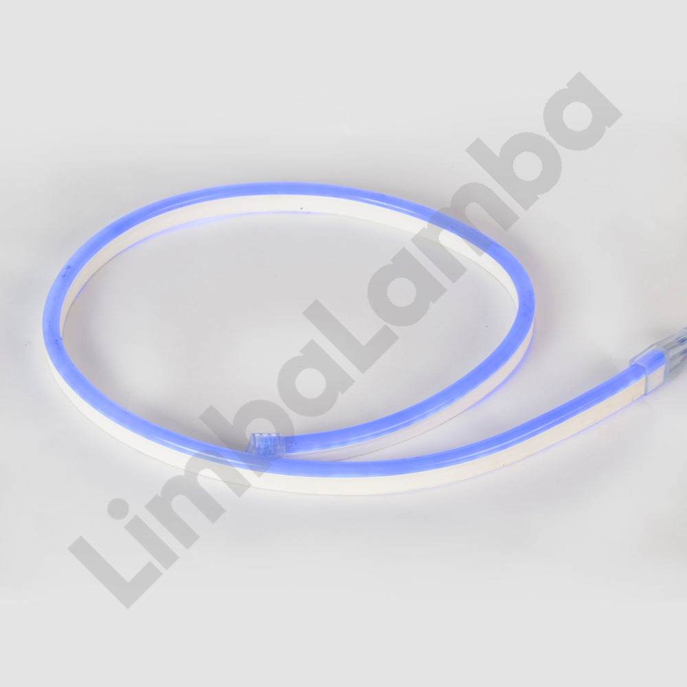 SAMSUNG  2835 8mm 108Chips/m Outdoor NEON Led Blue  1Meter / 39''