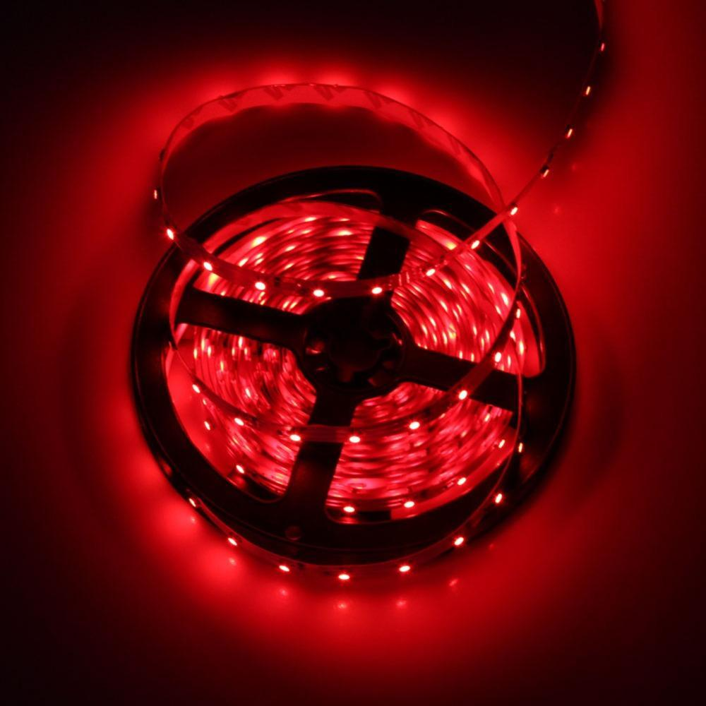 DCLED 2835 30Chips/m, 6W/m, Outdoor Strip Led Red 1 Meter (39'')