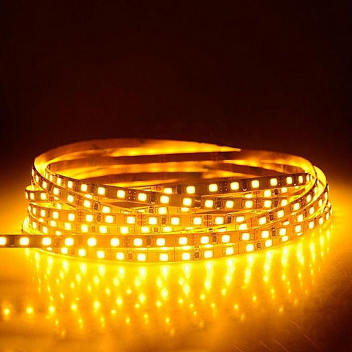 DCLED 2835 5mm Chips 9,6 W/m 96 Chips/Meter  Indoor Strip Led Yellow 1 Meter (39'')