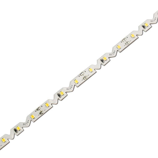 DCLED 3014 72Chips/m  7.2W/m Outdoor 3D Zigzag Edge Strip Led 10000K 1 Meter (39'')