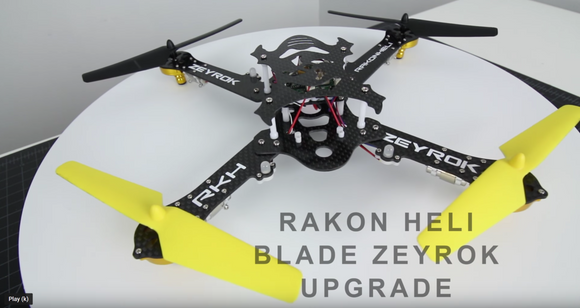 [Drone Camps RC] BLADE ZEYROK - CARBON FIBER Upgrade and Flight Test