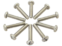 0-80*5/16 inch Pan Head Phillip Stainless Steel Screws