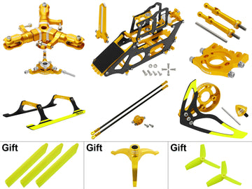 Rakonheli Trio Gold Upgrade Kit for the Blade 130 S